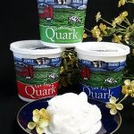 Quark cheese is a healthy substitute