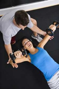 free-weight-training-with-dumbbells