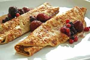 Low-Fat Oatmeal Protein Pancakes