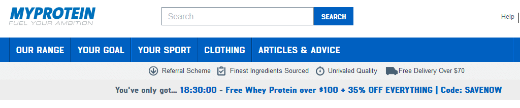 myprotein coupon