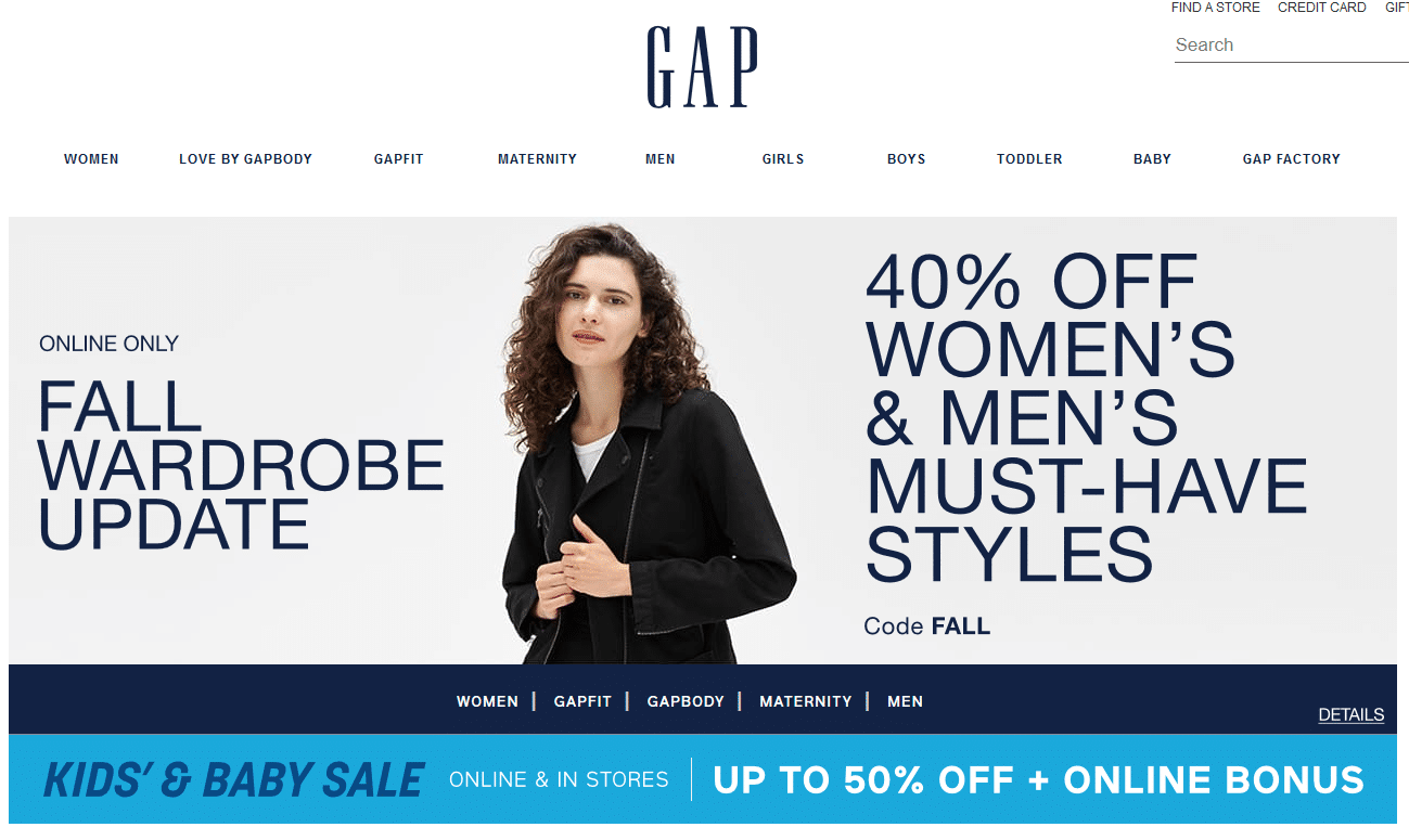 Gap for Baby Kids Clothes